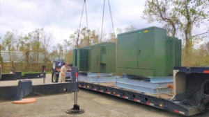 Image of shipment of transformers
